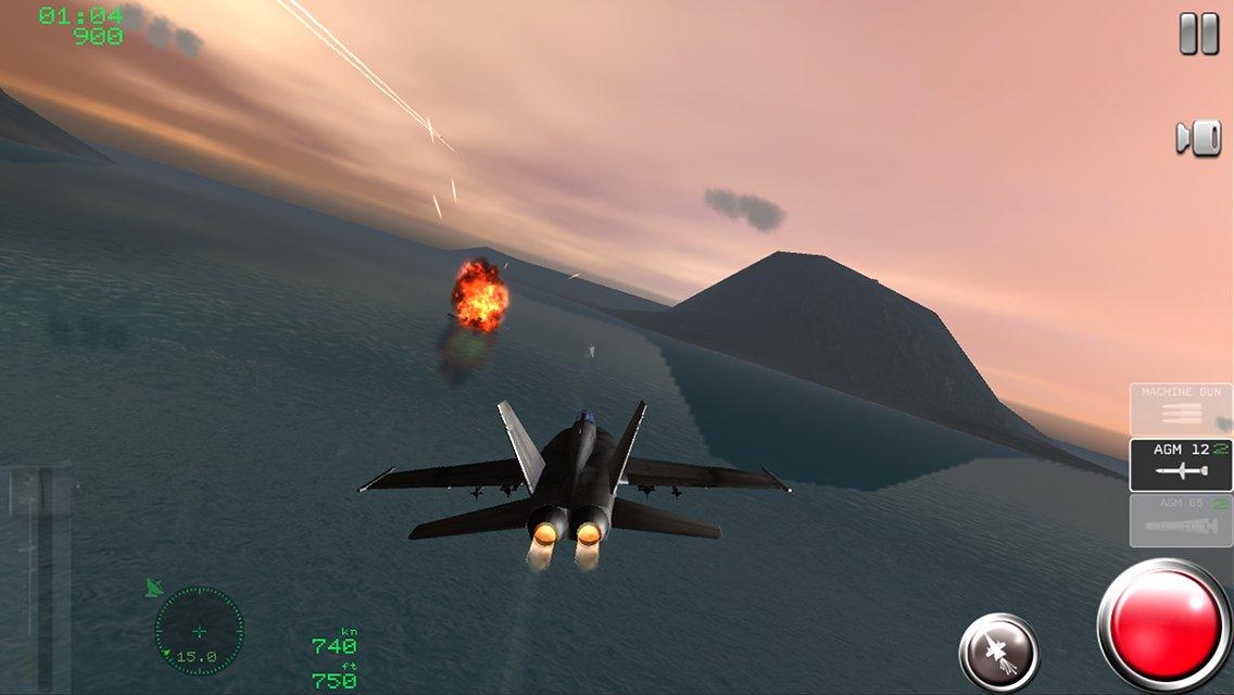 военный симулятор самолёта на андроид