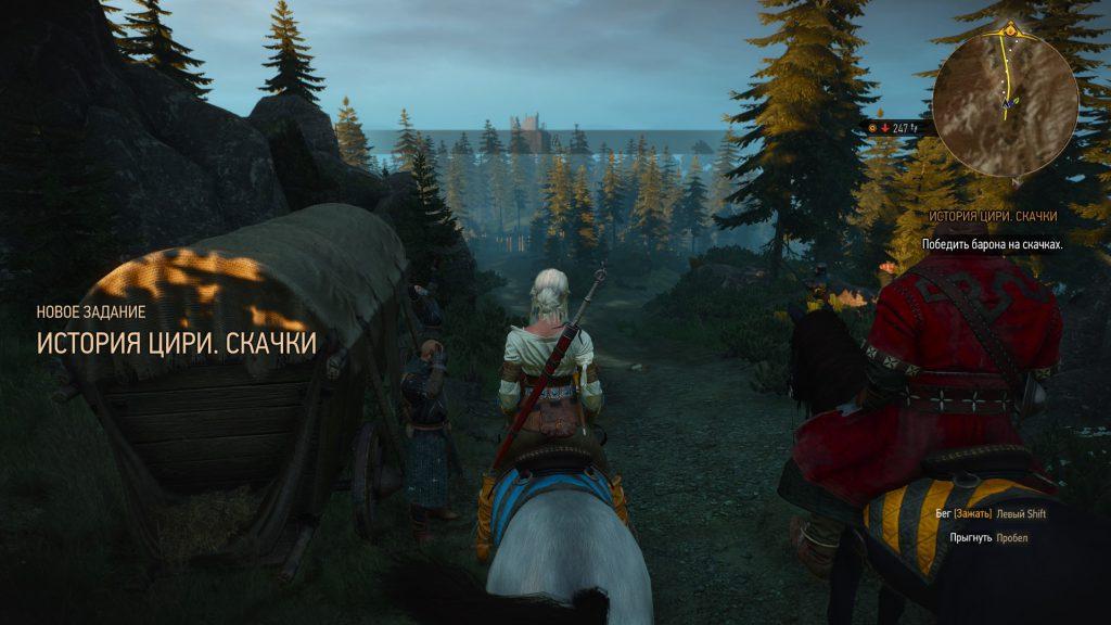 Прохождение Ведьмак 3 Цири скачки и Тамара (Велен часть 12)