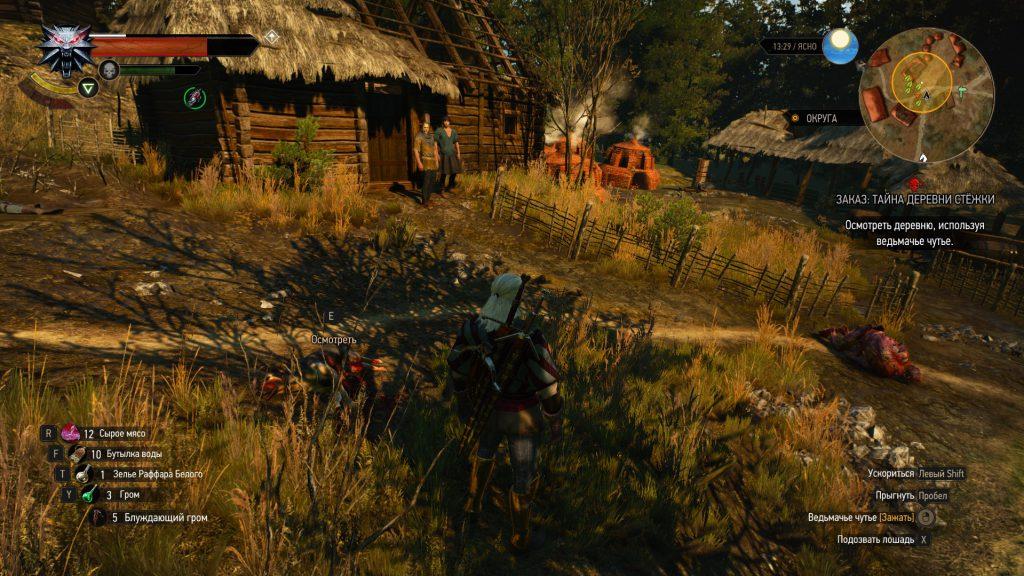 Прохождение Ведьмак 3 тайна деревни Стёжки Экимма (Велен доп квест часть 54)