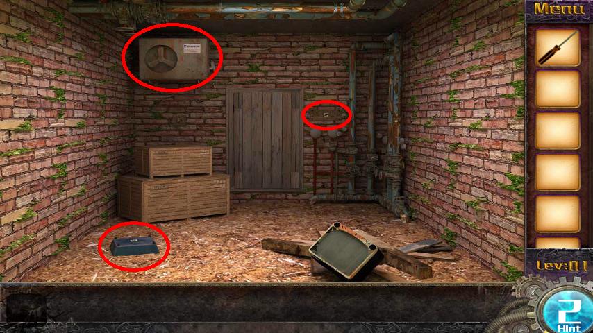 Прохождение игры 50 комнат 1 Уровень 1 (Escape Game 50 Rooms 1 Level 1)