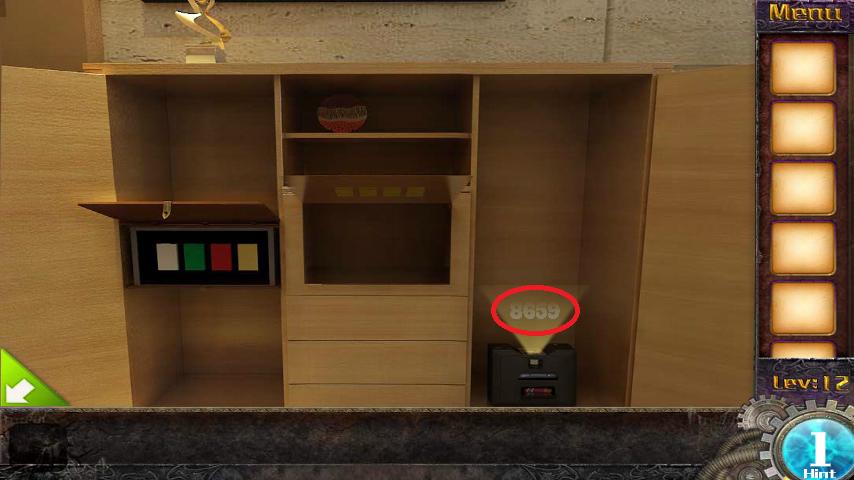 Прохождение игры 50 комнат 1 Уровень 12 (Escape Game 50 Rooms 1 Level 12)