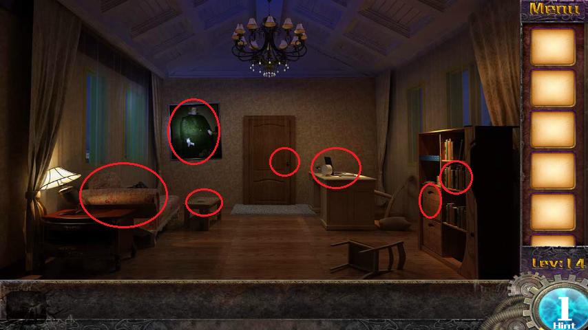 Прохождение игры 50 комнат 1 Уровень 14 (Escape Game 50 Rooms 1 Level 14)