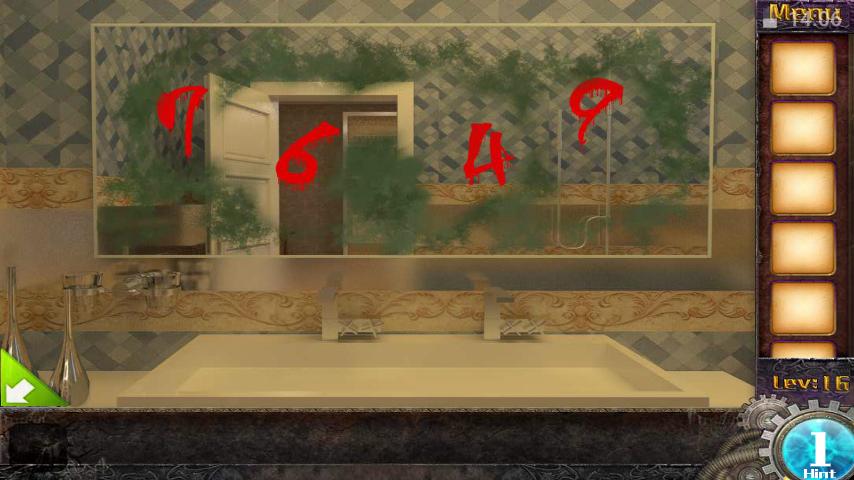 Прохождение игры 50 комнат 1 Уровень 16 (Escape Game 50 Rooms 1 Level 16)