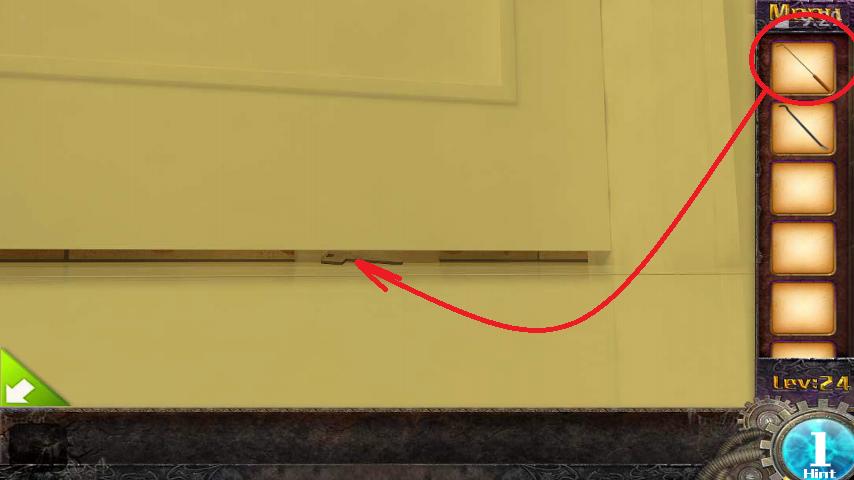 Прохождение игры 50 комнат 1 Уровень 24 (Escape Game 50 Rooms 1 Level 24)
