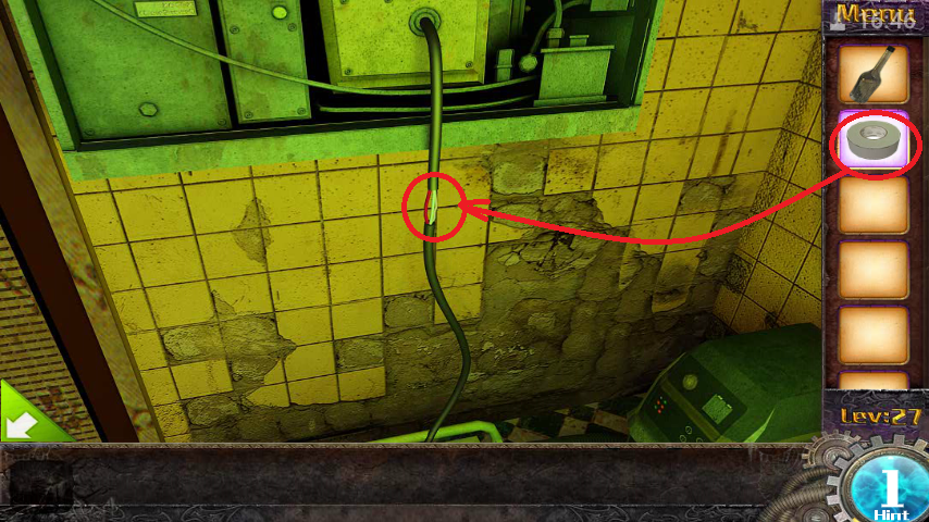 Прохождение игры 50 комнат 1 Уровень 27 (Escape Game 50 Rooms 1 Level 27)