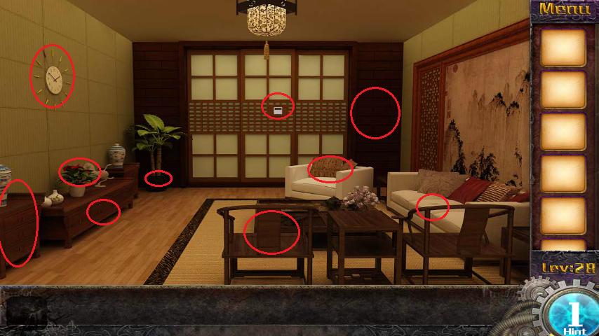 Прохождение игры 50 комнат 1 Уровень 28 (Escape Game 50 Rooms 1 Level 28)