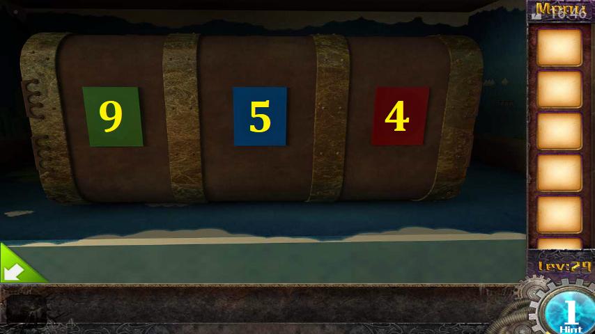 Прохождение игры 50 комнат 1 Уровень 29 (Escape Game 50 Rooms 1 Level 29)