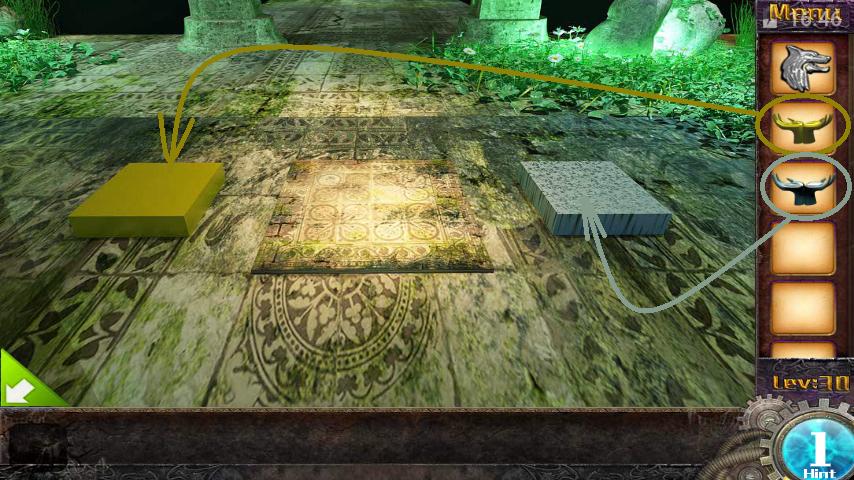 Прохождение игры 50 комнат 1 Уровень 30 (Escape Game 50 Rooms 1 Level 30)