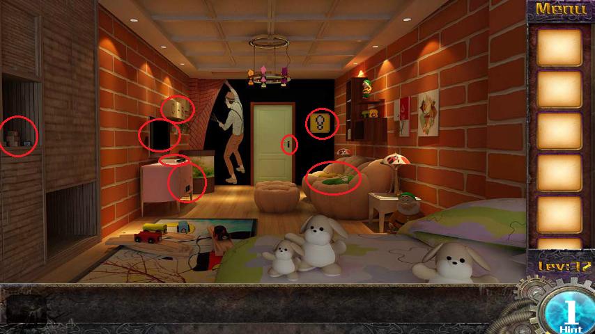 Прохождение игры 50 комнат 1 Уровень 32 (Escape Game 50 Rooms 1 Level 32)