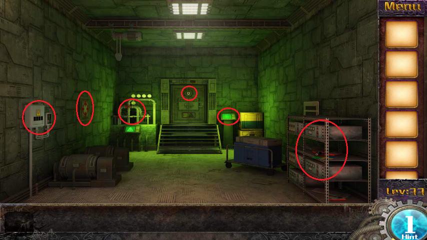 Прохождение игры 50 комнат 1 Уровень 33 (Escape Game 50 Rooms 1 Level 33)