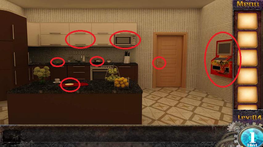 Прохождение игры 50 комнат 1 Уровень 4 (Escape Game 50 Rooms 1 Level 4)