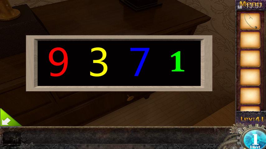 Прохождение игры 50 комнат 1 Уровень 41 (Escape Game 50 Rooms 1 Level 41)