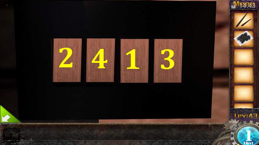 Прохождение игры 50 комнат 1 Уровень 43 (Escape Game 50 Rooms 1 Level 43)