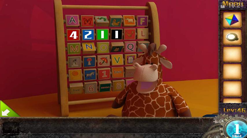 Прохождение игры 50 комнат 1 Уровень 46 (Escape Game 50 Rooms 1 Level 46)