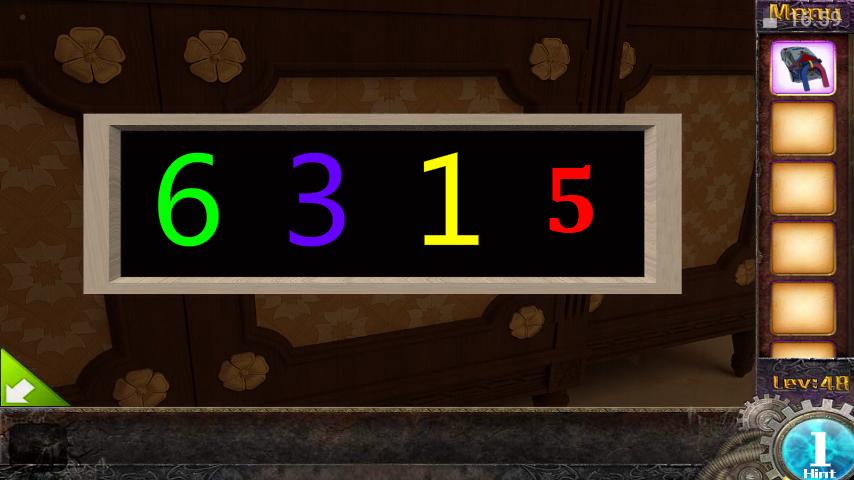 Прохождение игры 50 комнат 1 Уровень 48 (Escape Game 50 Rooms 1 Level 48)