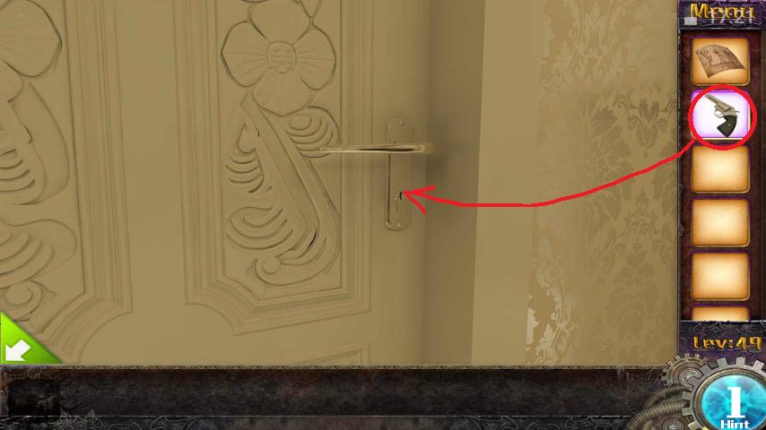 Прохождение игры 50 комнат 1 Уровень 49 (Escape Game 50 Rooms 1 Level 49)