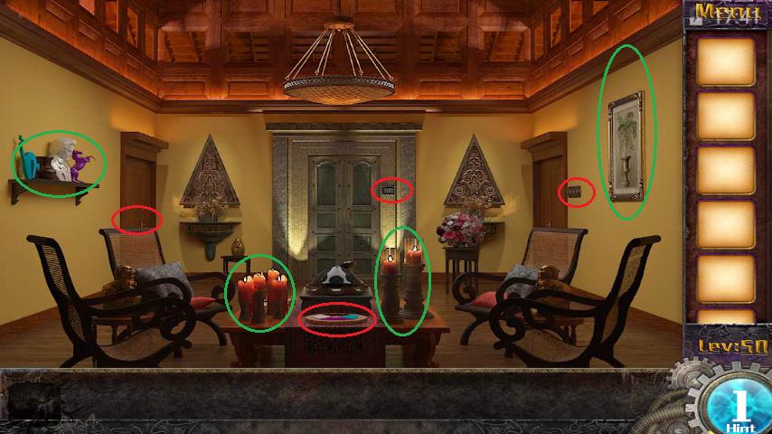 Прохождение игры 50 комнат 1 Уровень 50 (Escape Game 50 Rooms 1 Level 50)