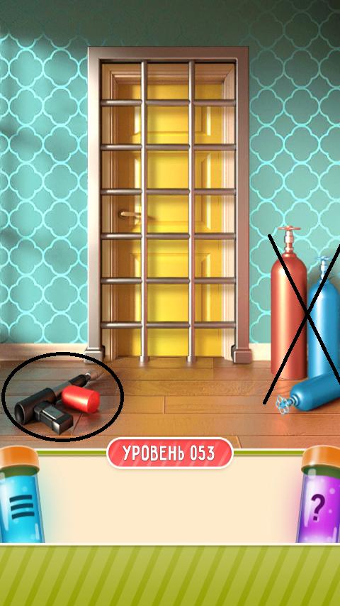 100 дверей дом головоломок 53 уровень прохождение