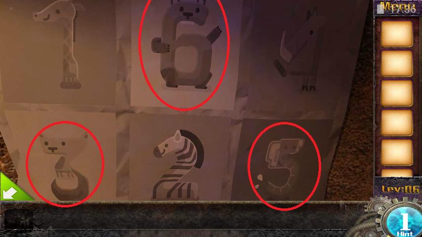 Прохождение игры 50 комнат 1 Уровень 6 (Escape Game 50 Rooms 1 Level 6)