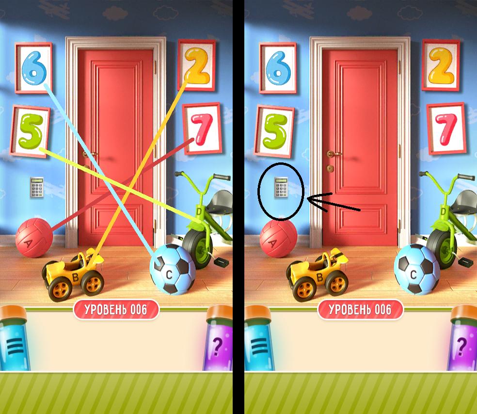 100 дверей дом головоломок 6 уровень прохождение