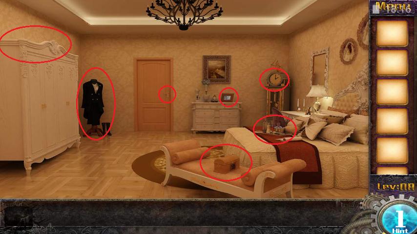 Прохождение игры 50 комнат 1 Уровень 8 (Escape Game 50 Rooms 1 Level 8)