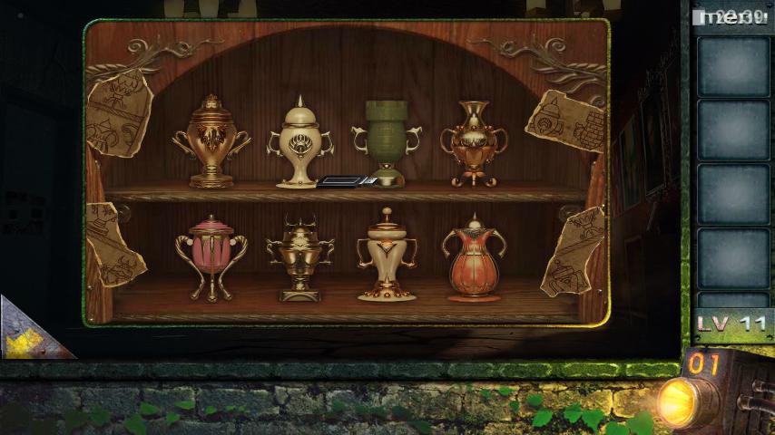 Прохождение игры 50 комнат 2 Уровень 11 (Escape Game 50 Rooms 2 Level 11)
