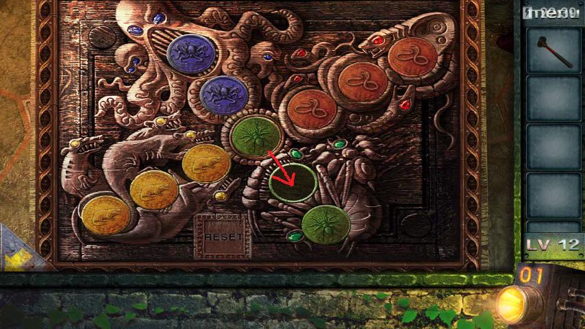 Прохождение игры 50 комнат 2 Уровень 12 (Escape Game 50 Rooms 2 Level 12)
