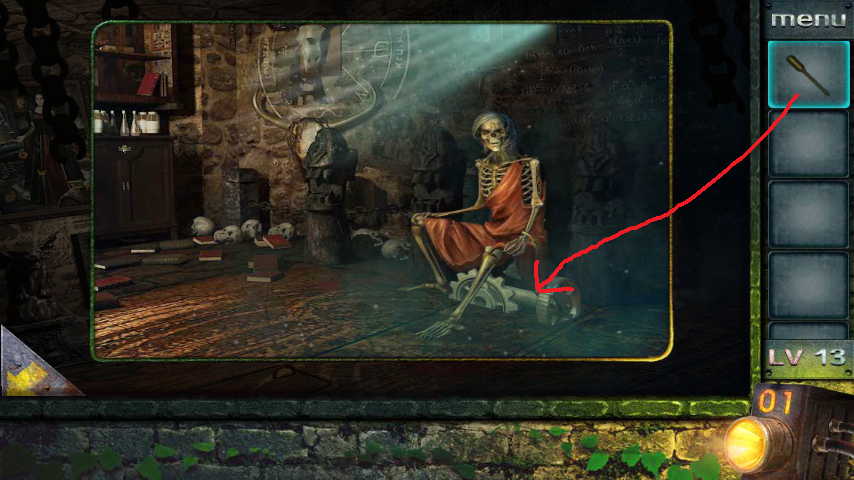 Прохождение игры 50 комнат 2 Уровень 13 (Escape Game 50 Rooms 2 Level 13)