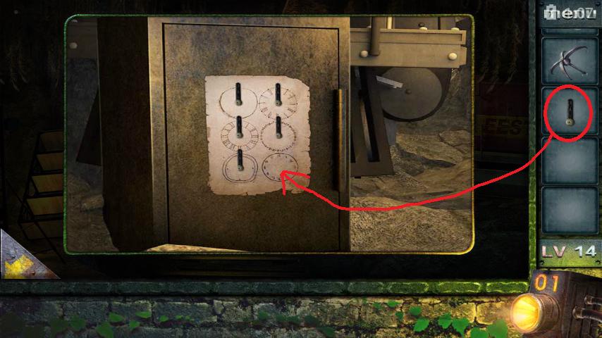 Прохождение игры 50 комнат 2 Уровень 14 (Escape Game 50 Rooms 2 Level 14)