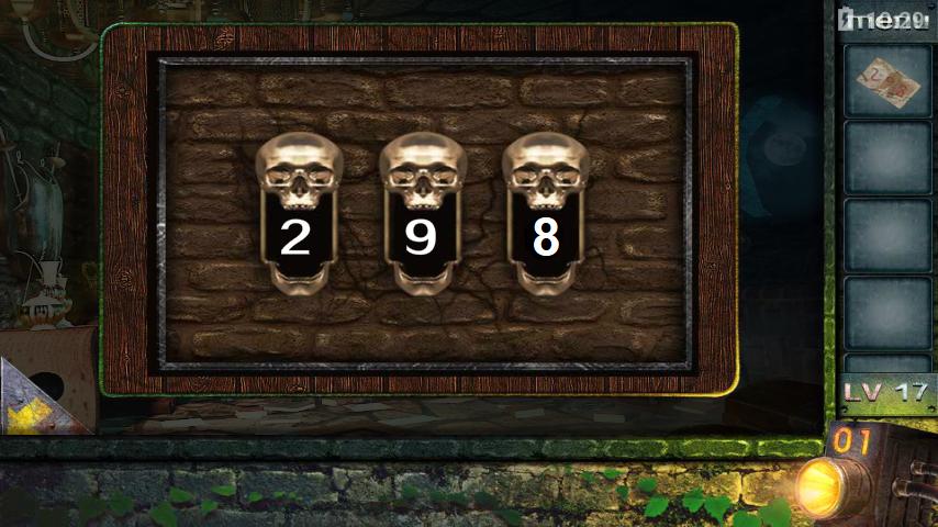 Прохождение игры 50 комнат 2 Уровень 17 (Escape Game 50 Rooms 2 Level 17)