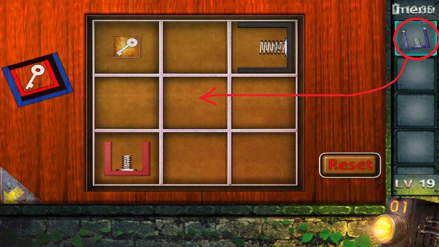 Прохождение игры 50 комнат 2 Уровень 19 (Escape Game 50 Rooms 2 Level 19)