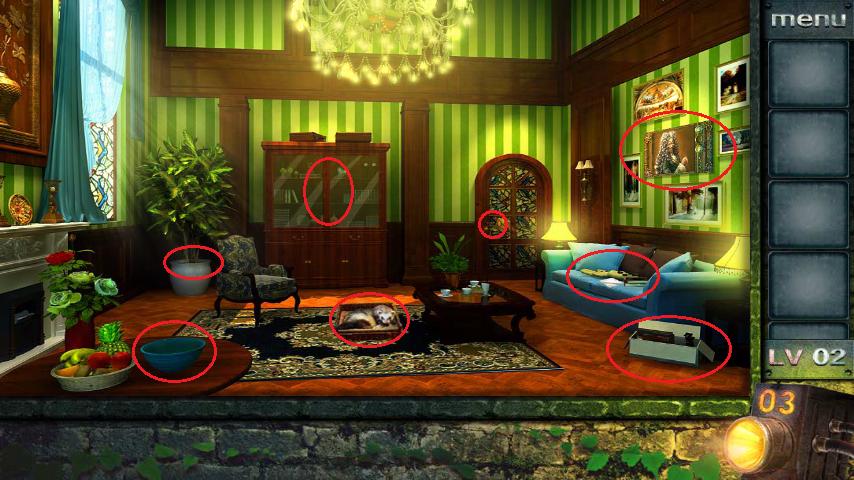 Прохождение игры 50 комнат 2 Уровень 2 (Escape Game 50 Rooms 2 Level 2)