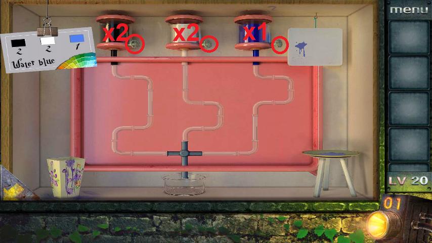 Прохождение игры 50 комнат 2 Уровень 20 (Escape Game 50 Rooms 2 Level 20)