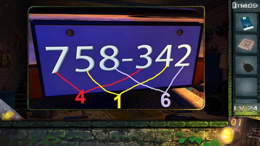Прохождение игры 50 комнат 2 Уровень 24 (Escape Game 50 Rooms 2 Level 24)