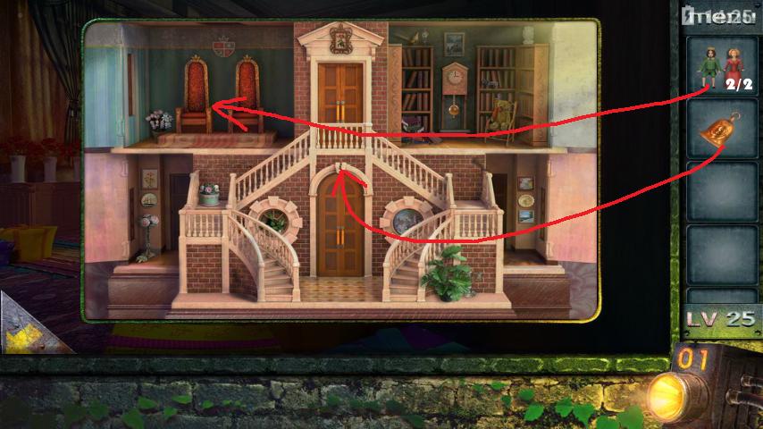 Прохождение игры 50 комнат 2 Уровень 25 (Escape Game 50 Rooms 2 Level 25)