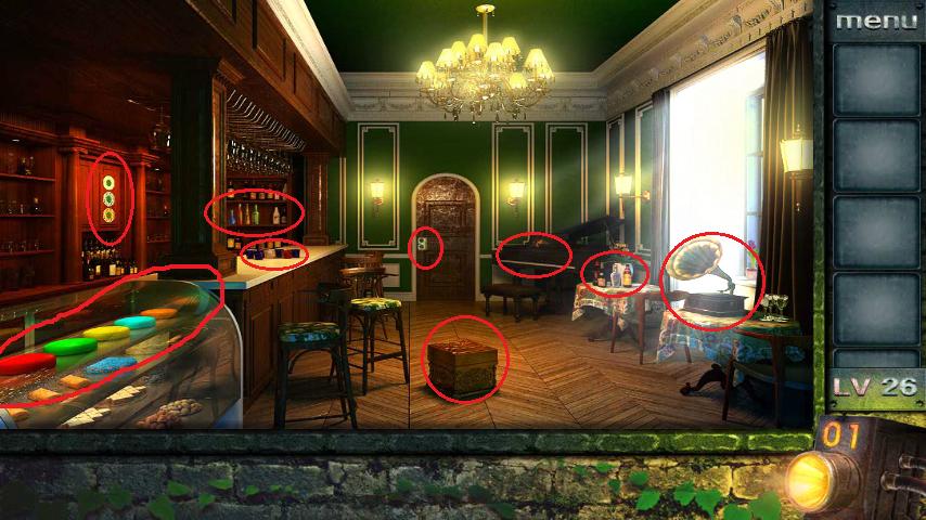 Прохождение игры 50 комнат 2 Уровень 26 (Escape Game 50 Rooms 2 Level 26)