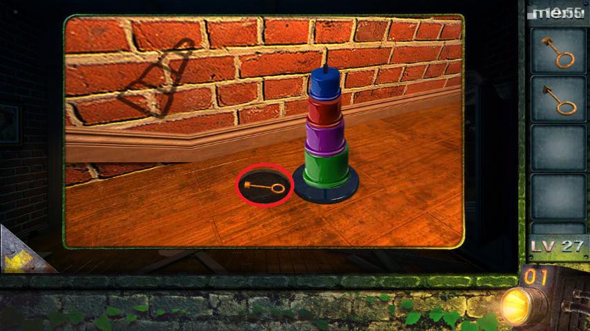 Прохождение игры 50 комнат 2 Уровень 27 (Escape Game 50 Rooms 2 Level 27)