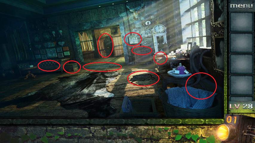 Прохождение игры 50 комнат 2 Уровень 28 (Escape Game 50 Rooms 2 Level 28)