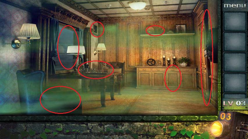 Прохождение игры 50 комнат 2 Уровень 3 (Escape Game 50 Rooms 2 Level 3)