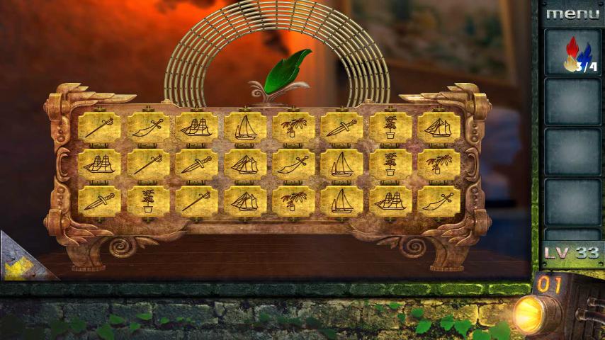 Прохождение игры 50 комнат 2 Уровень 33 (Escape Game 50 Rooms 2 Level 33)