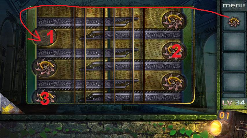 Прохождение игры 50 комнат 2 Уровень 34 (Escape Game 50 Rooms 2 Level 34)