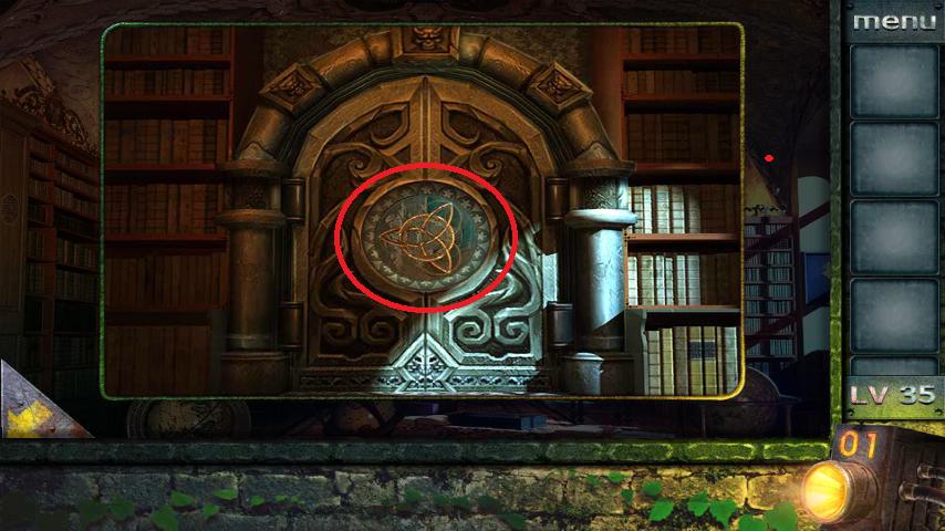 Прохождение игры 50 комнат 2 Уровень 35 (Escape Game 50 Rooms 2 Level 35)