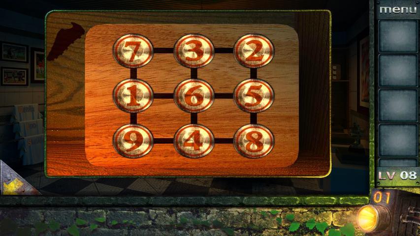 Прохождение игры 50 комнат 2 Уровень 8 (Escape Game 50 Rooms 2 Level 8)