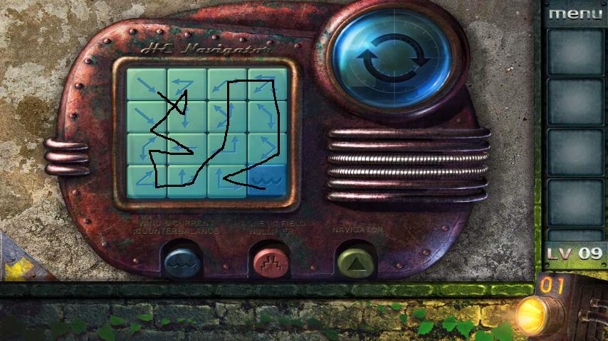 Прохождение игры 50 комнат 2 Уровень 9 (Escape Game 50 Rooms 2 Level 9)