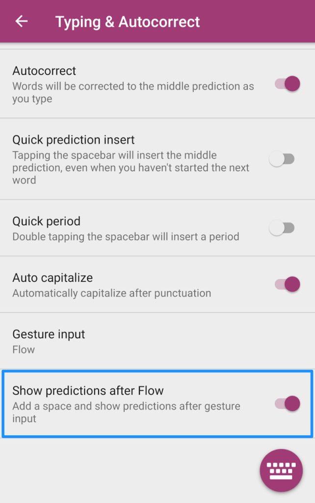 Свайп эмодзи клавиатура SwiftKey на Андроид