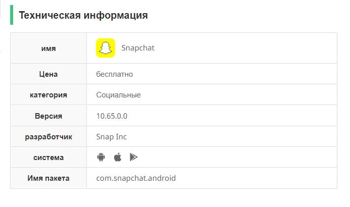 Снапчат скачать бесплатно на андроид последняя версия без вирусов на русском языке